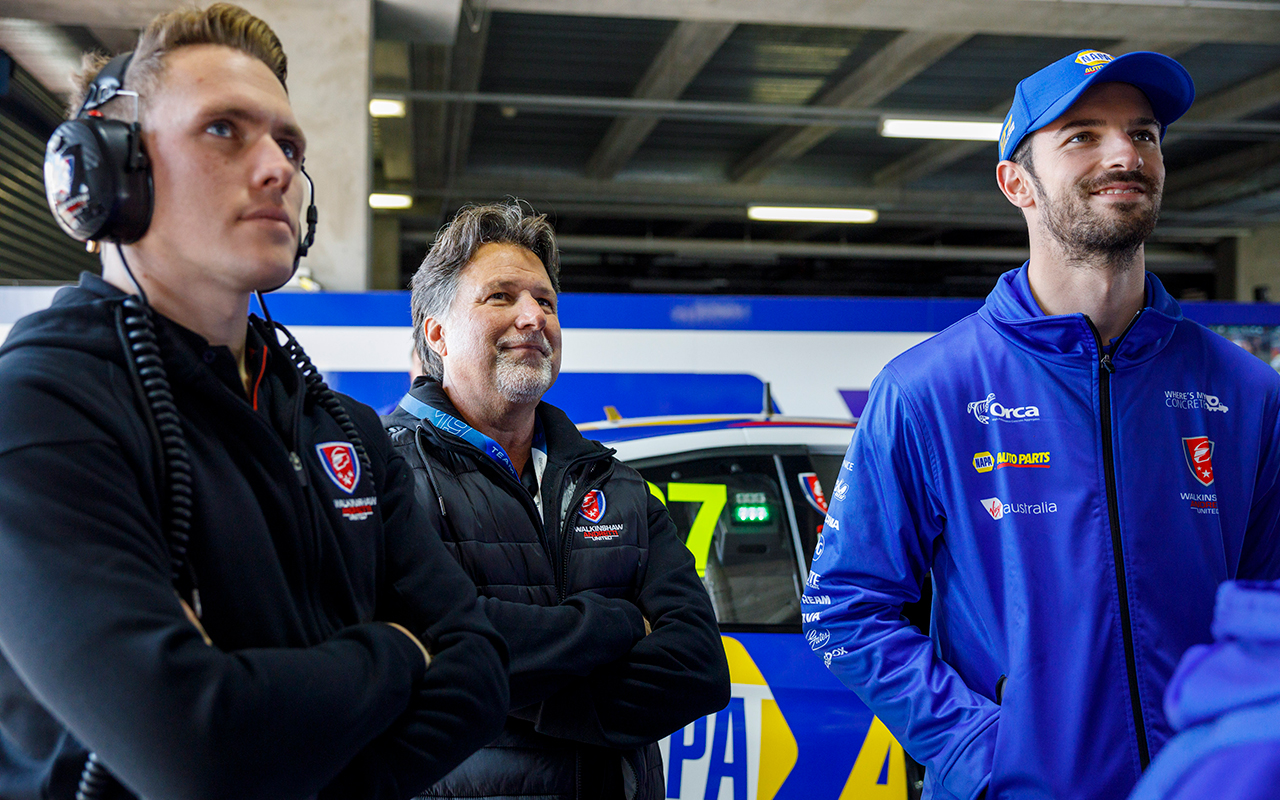 'It was a lot to learn': Indy duo's steady start | Supercars
