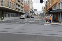 Tram tracks to be covered for Newcastle 500