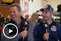 Trackside: Whincup's cheeky reaction to Lowndes deal