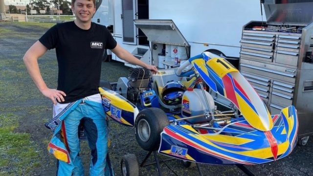 Fullwood's chance to give back to young karters
