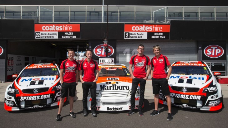 Holden Racing Team celebrates the Last of the Big Bangers