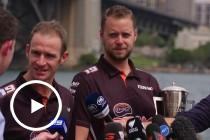 Davison and Webb on their Bathurst 1000 victory