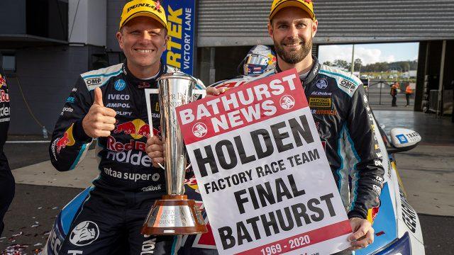Van Gisbergen fends off Waters for Bathurst win