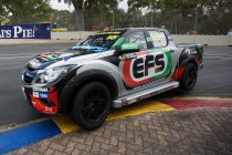 Harris finding SuperUte 'awesome' to drive