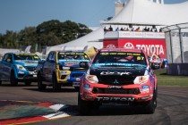 Promising weekend got away from Mitsubishi rookie