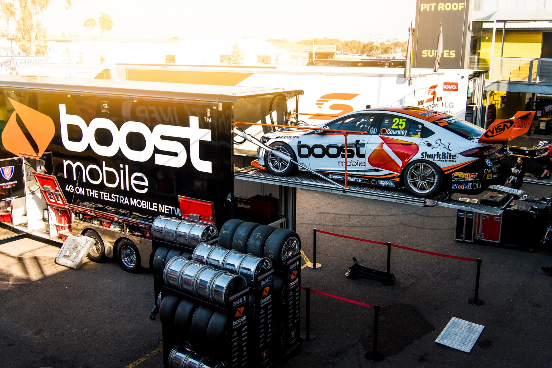 New parts ready to roll for WAU test | Supercars