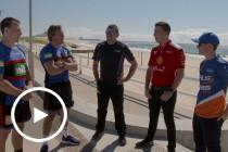 Drivers meet Newcastle Knights
