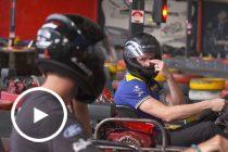 Former Tickford team-mates face off in karts