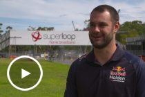 Van Gisbergen checks out Adelaide track build