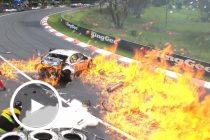 Bathurst 2011: Besnard's fireball