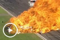 Flashback: Reindler escapes Barbagallo fireball