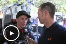Tony D'Alberto talks Practice 2 on the Gold Coast