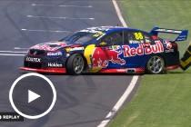 Whincup escapes a huge shunt