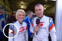Rusty and Riana wrap up Winton