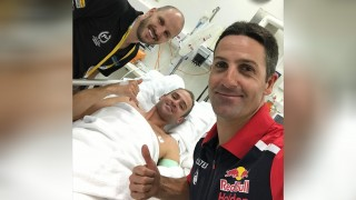 Overnight hospital stay for Davison