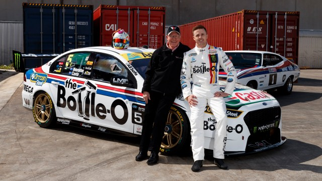 Prodrive unveils tribute to Moffat and Bond 1-2