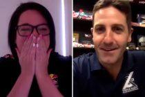 Whincup crashes fan zoom chat