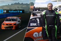 Supercars e-series leader's racing double-life