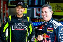 Lowndes' taste of Coulthard Team Sydney car