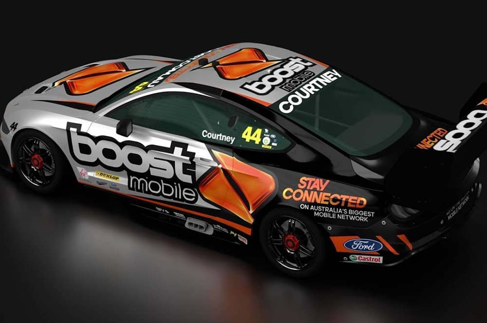 Sponsor Teases Courtney S Mustang Livery Design On Instagram Supercars