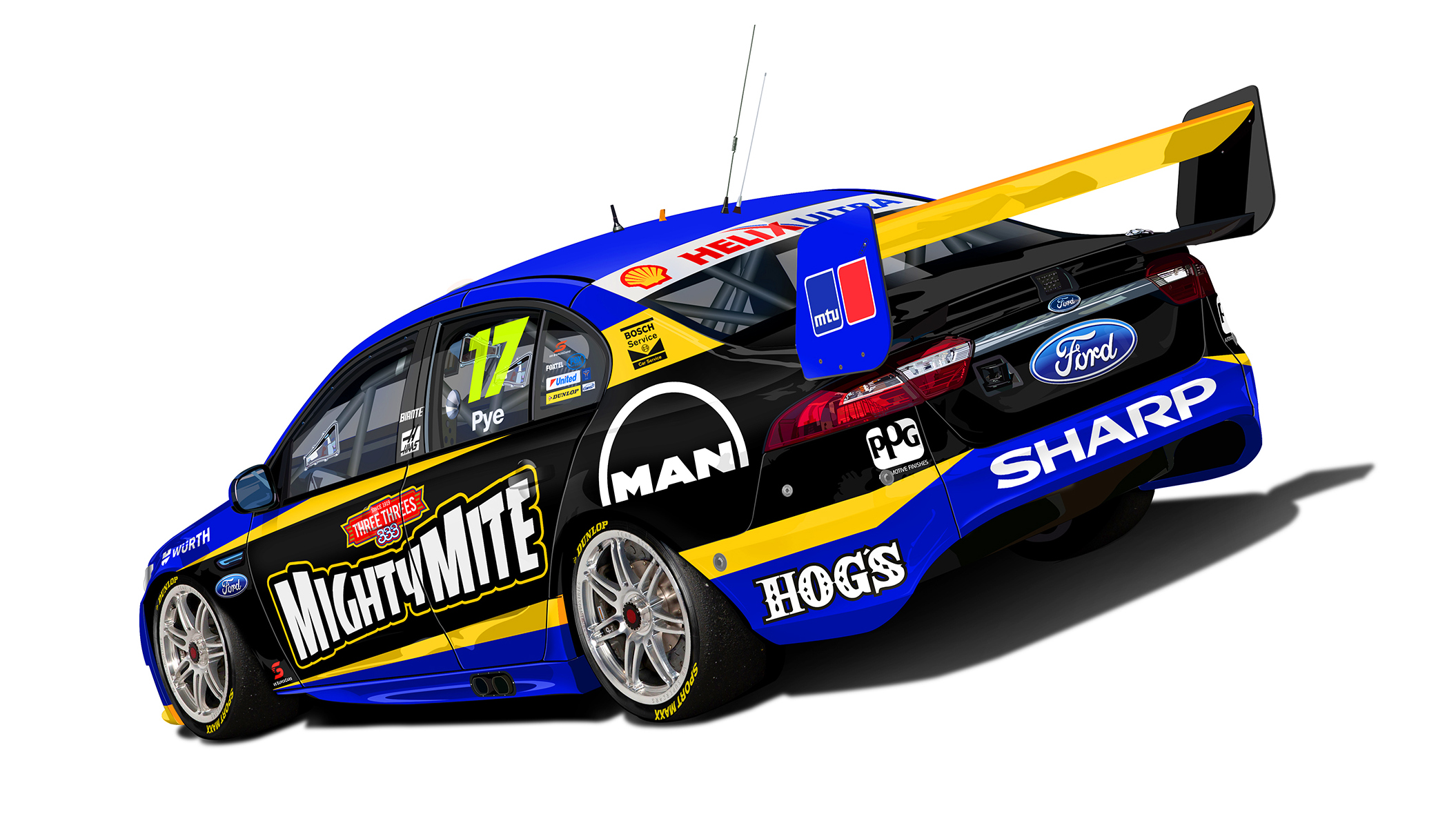 DJR Might Mite livery rear