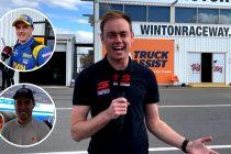 Neylon searches for the scoop from Winton test day