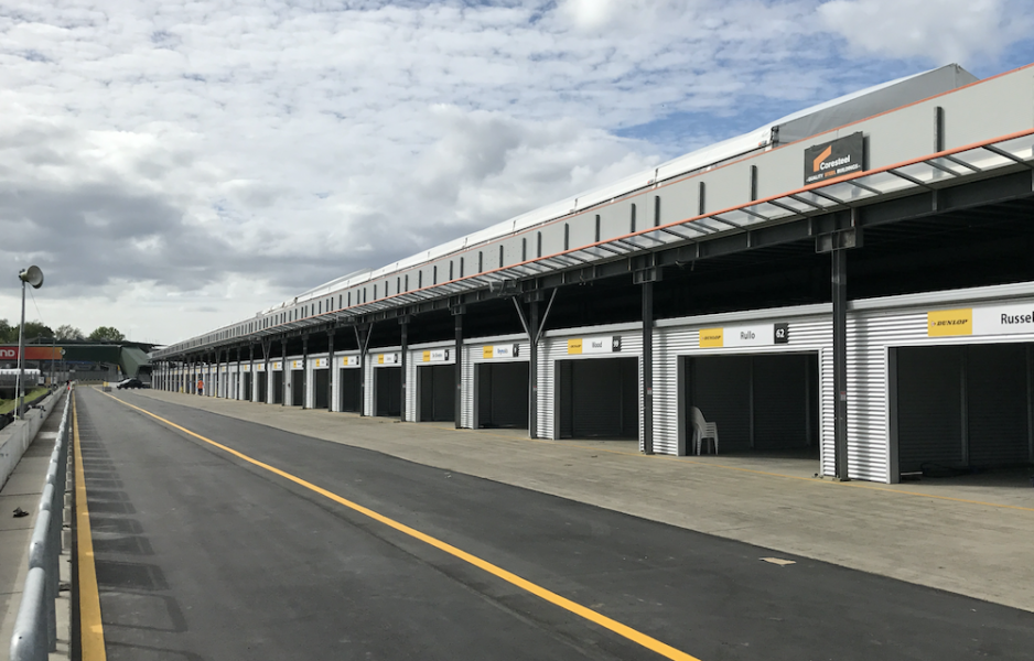 A total of 28 new garages have been built
