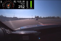 Judicial Vision: Onboard of Tander's 252km/h fright