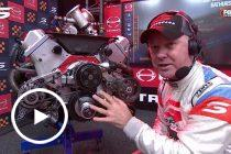 Larko explains engine sensor, throttle issues