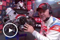 Larko explains engine sensor, throttle issues