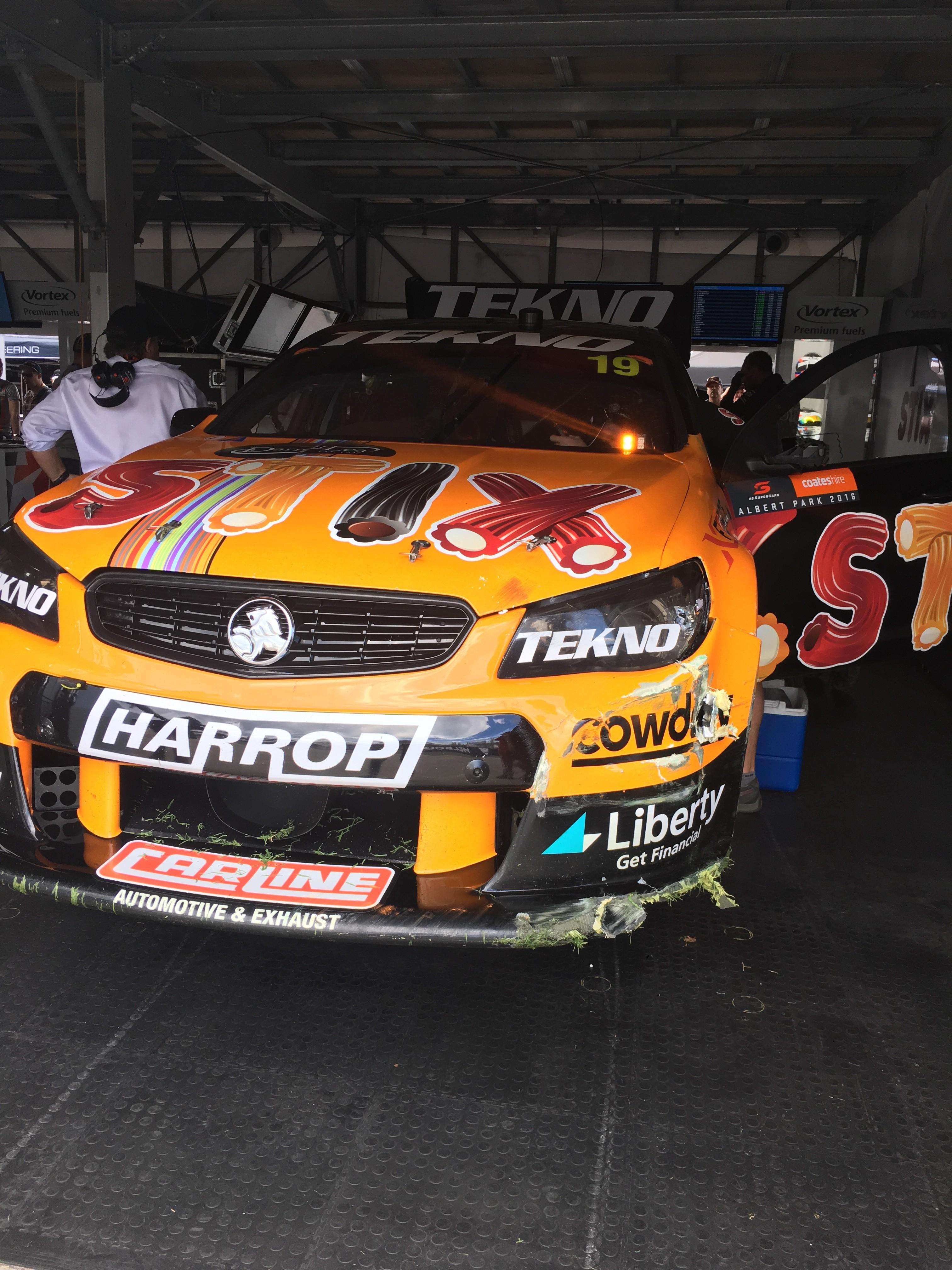 Will Davison damage AGP 2016