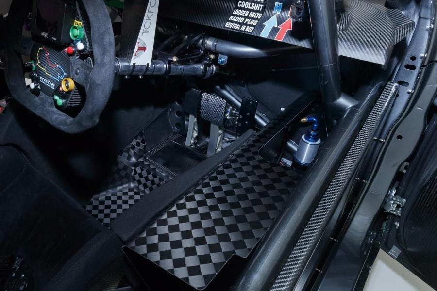 The Penske design in a Prodrive Ford