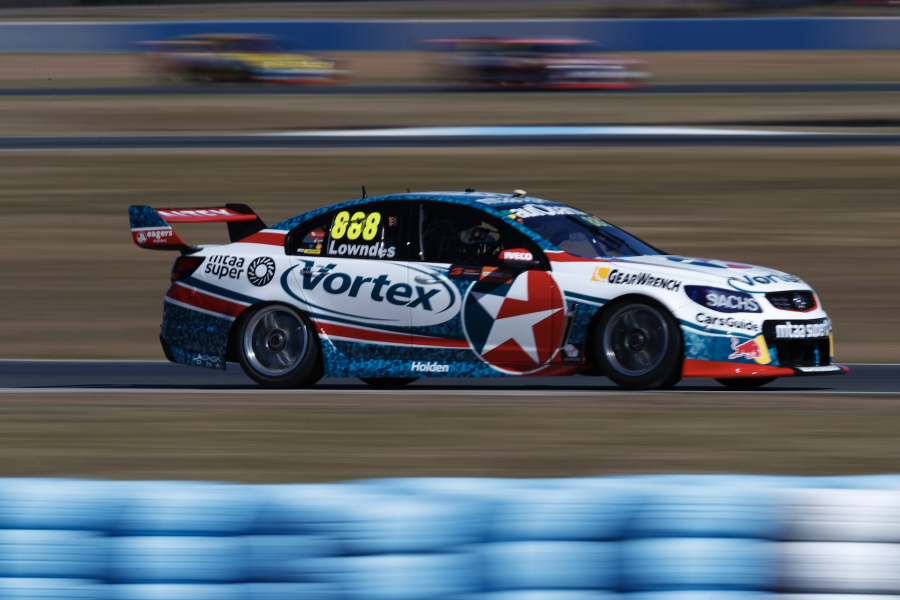 Lowmdes finished fifth and sixth in the two races