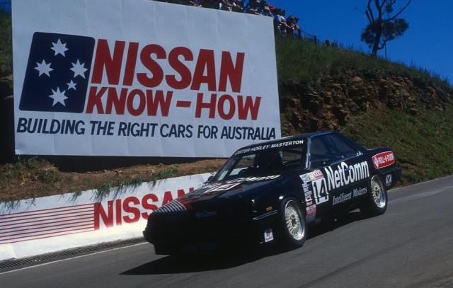 Carter racing at Bathurst in 1987