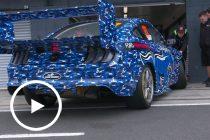 Mustang Supercar hits the track