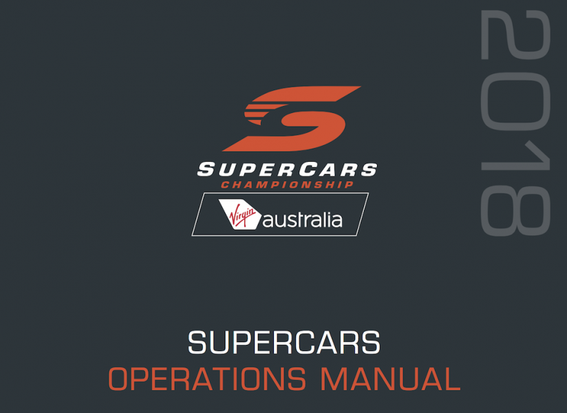 The cover of the 2018 manual