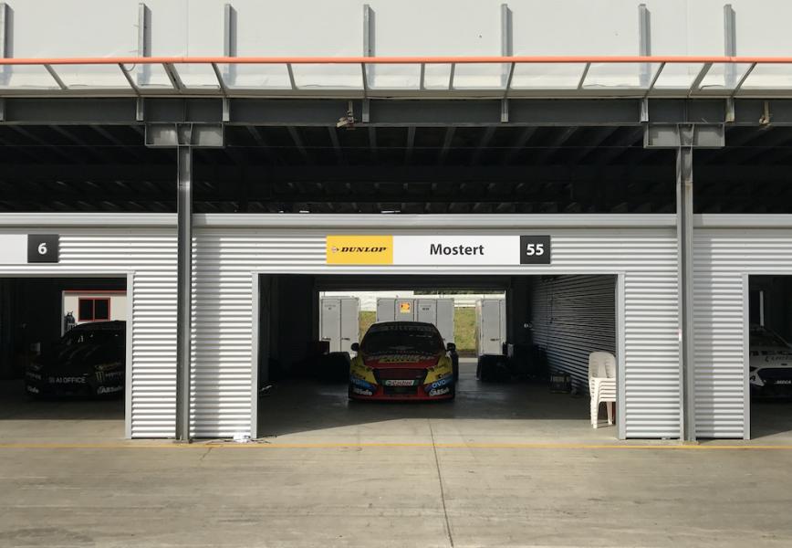 Walls between each garage will add an extra challenge