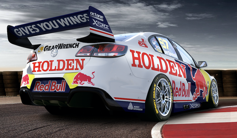 bdaeee845feb Red Bull HRT reveals Sandown retro livery. Virgin Australia Supercars  Championship ...