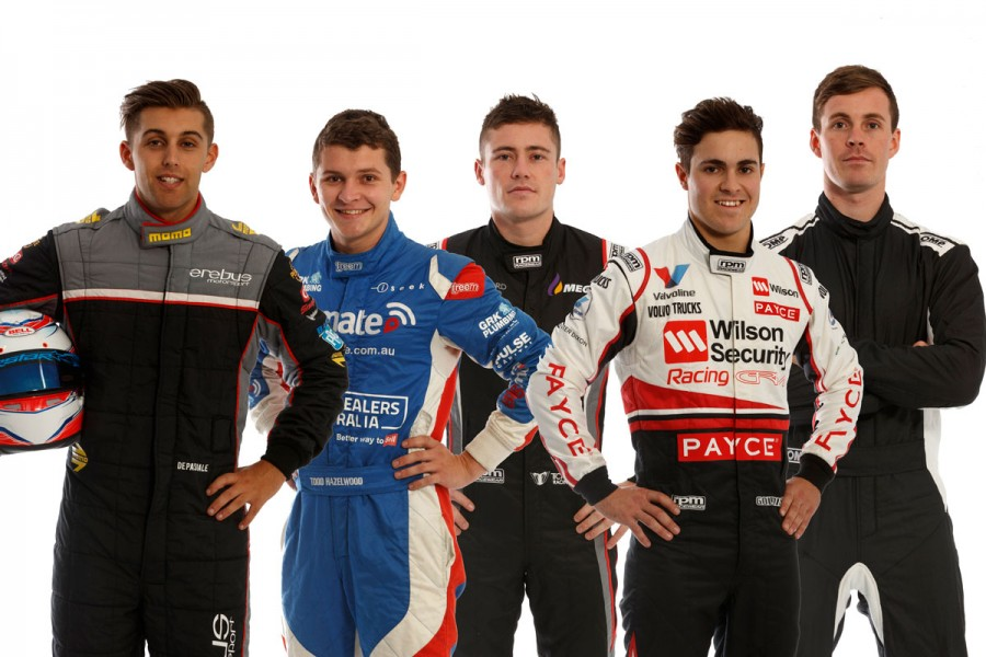 The five Supercars rookies