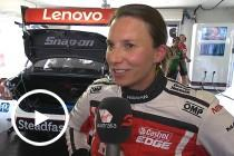 Big reward for De Silvestro's 'lucky' 10th