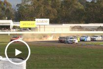 Shell Fords clash on opening lap