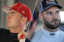 Van Gisbergen, McLaughlin in qualifying tangle