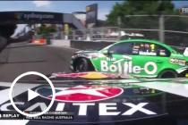 Van Gisbergen spins Winterbottom
