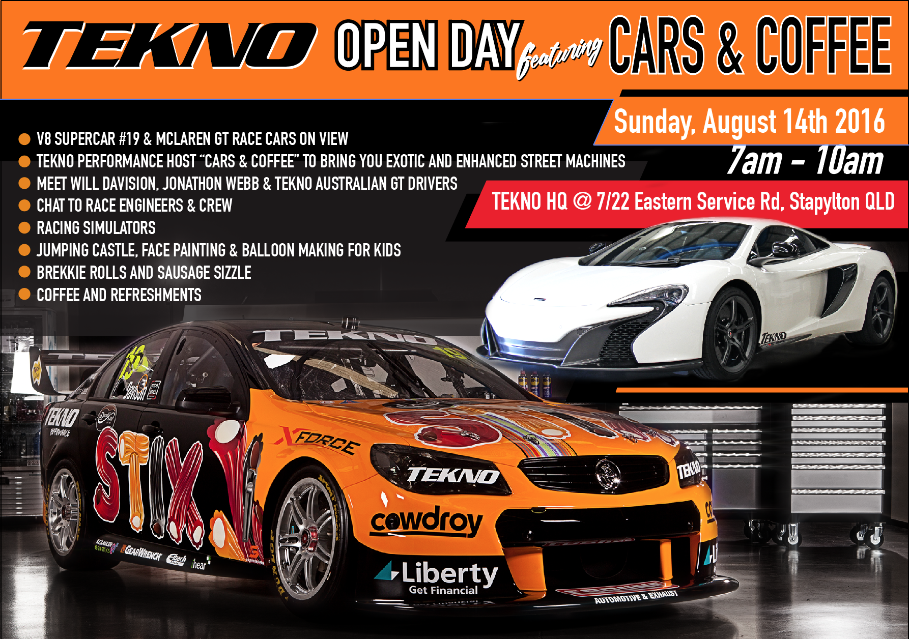 tekno open day flyer 2016