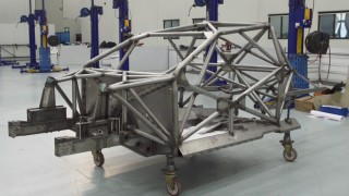 Tickford shows off first Mustang chassis