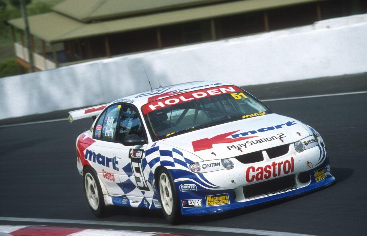 2001 Rick Kelly first Bathurst