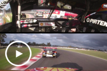 Onboards: Coulthard and McLaughlin's collision