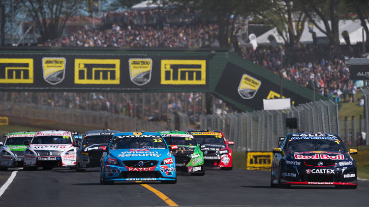 2015 V8 Supercars Round 12. Auckland 500, Pukekohe Park Raceway, Auckland, New Zealand. Friday 6th November - Sunday 8th November 2015. Scott McLaughlin driver of the #33 Wilson Security Racing GRM Volvo World Copyright: Volvo Polestar Racing Ref: Digital Image V8SCR12_AUCKLAND500_DKIMG3716.NEF