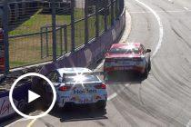 Whincup and Coulthard clash in Newcastle